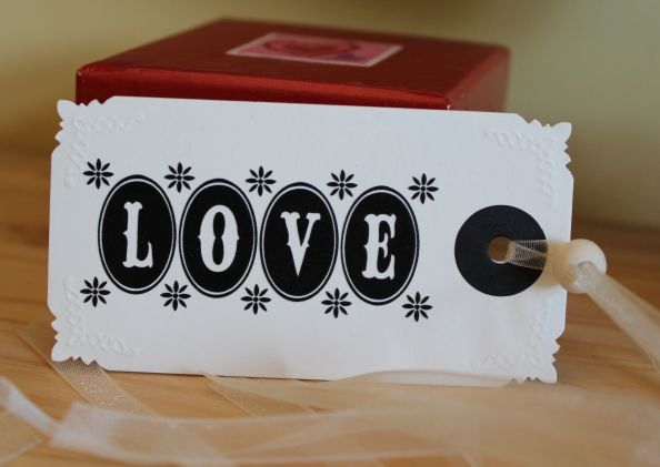 LOVE - Schild