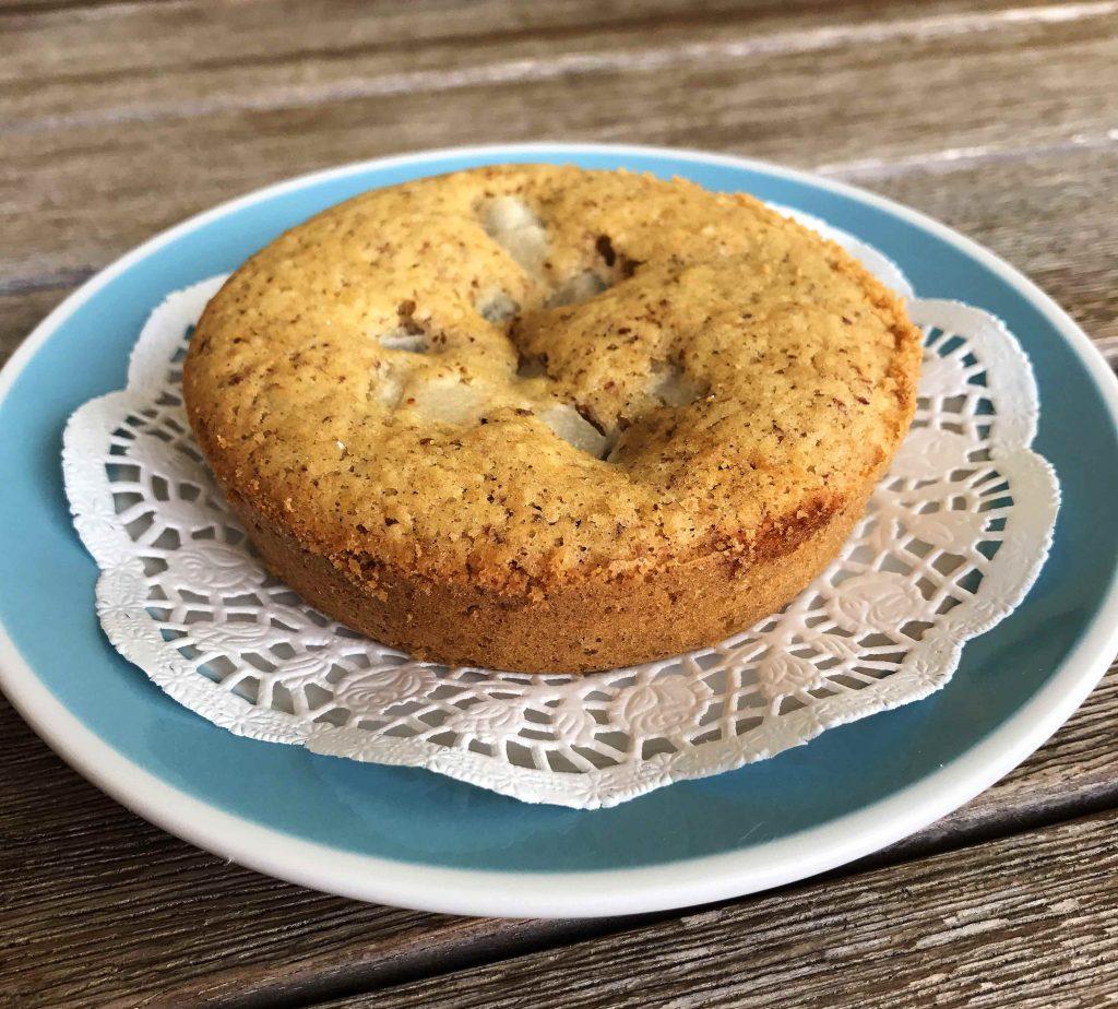 Mandelbirnen-Muffin-glutenfrei